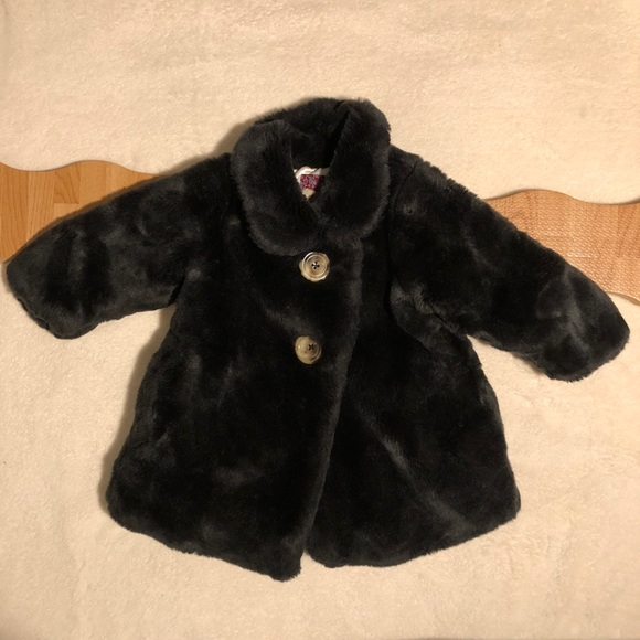 NWT Old Navy Toddler Girl/'s Pea Coat in Navy With Gold Sparkles 18-24 Month